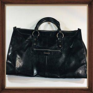 Vintage Victoria's Secret Leather Over Night Bag